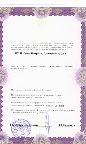 новая лицензия 2017 -2