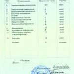 Вкладка диплома Ирины Савиной