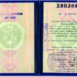 Диплом Ирины Андреевны Соловьевой