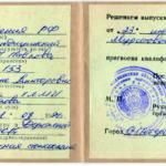 Удостоверение Муратовой И. В.