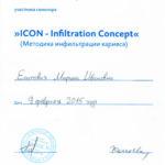 Сертификат Есипович М. И. 2015